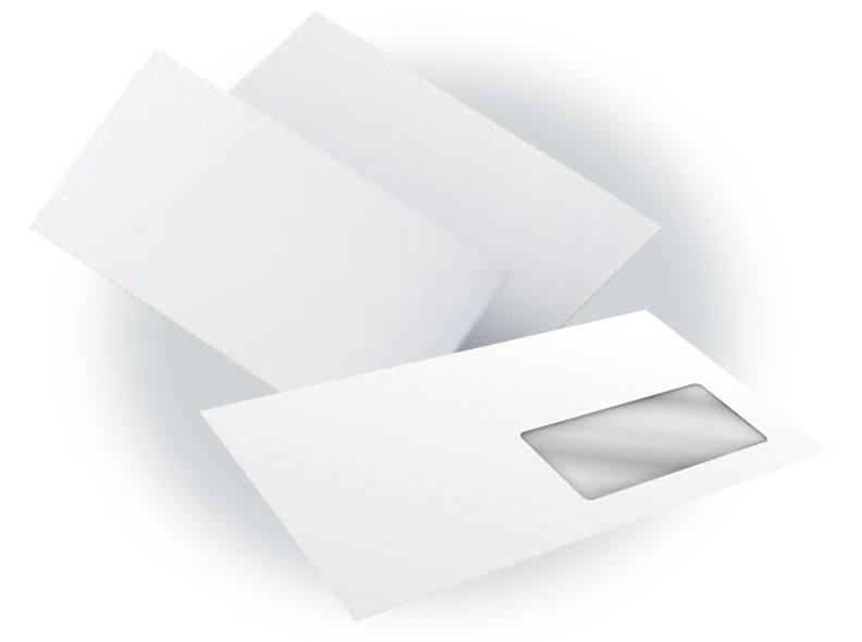 100 Clear Window Envelopes, Letters & Mailing Labels